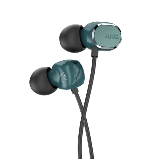 AKG N25 - Teal - Hi-Res in-ear headphones - Detailshot 1