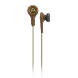 Y10 - Brown - Lightweight in-ear headphones - Hero