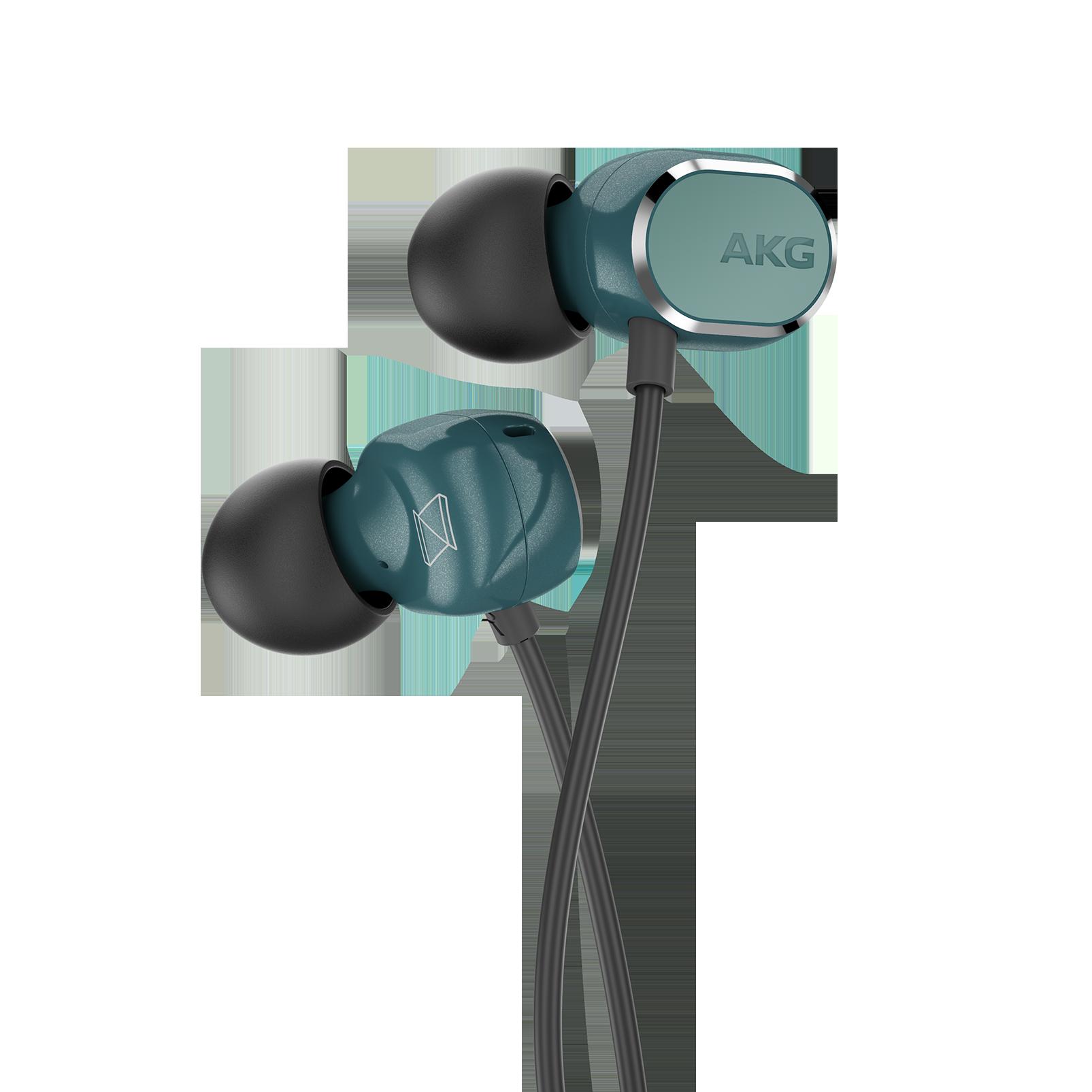 AKG N25 - Teal - Hi-Res in-ear headphones - Detailshot 1