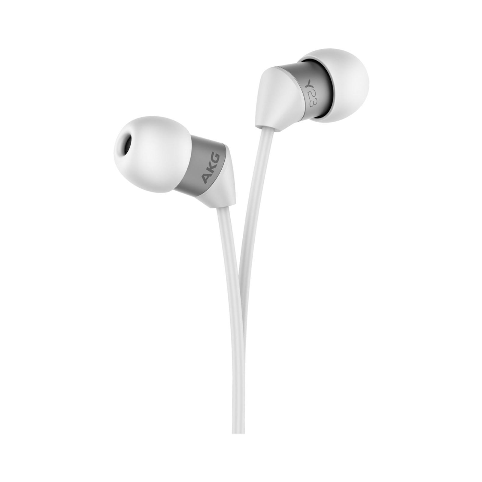Y23U - White - The smallest in-ear headphones with universal remote and microphone - Detailshot 1